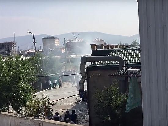Пострадавших при взрыве газа вбанкетном зале Махачкалы доставят в столицу