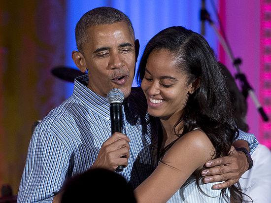 Дочь Барака Обамы Малия «застукана» закурением марихуаны
