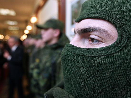 Террористов, пытавшихся пробиться вКрым, Киев назвал «патриотами»