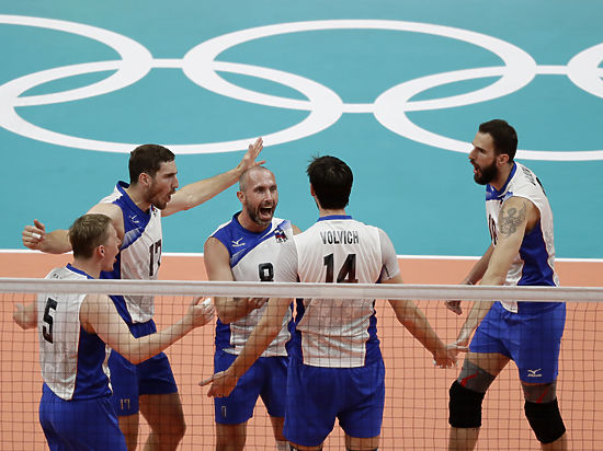 Сборная Российской Федерации поволейболу прошла вполуфинал наОлимпиаде вРио