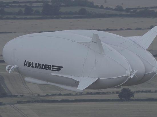 Крупнейшее воздушное судно вмире поднялось ввоздух вАнглии