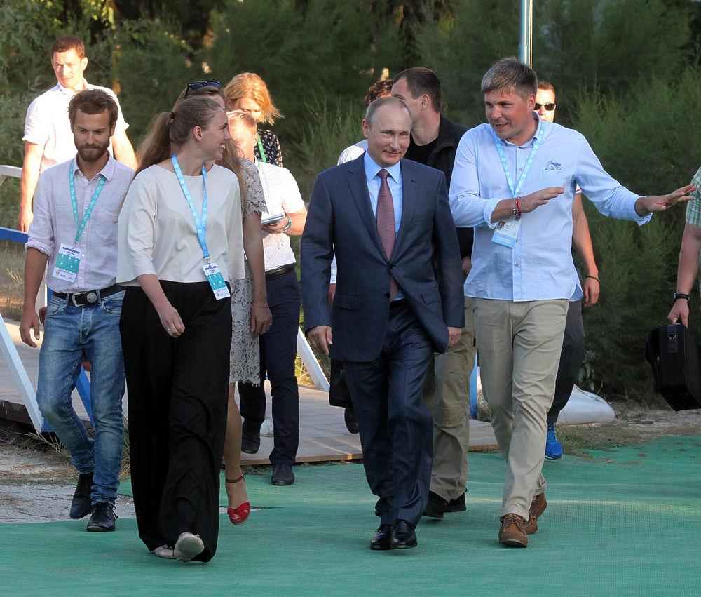 """Всероссийский молодежный форум """"Таврида"""" проводится в Крыму в третий раз."""