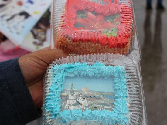 ВЯкутске коДню флага испекли торт весом 280кг