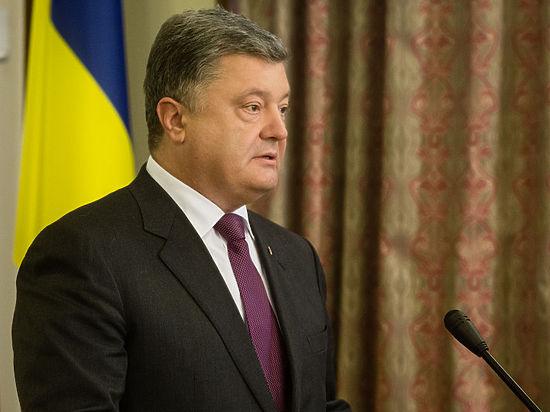 Порошенко поздравил украинцев с независимостью и дал совет «товарищам москалям»