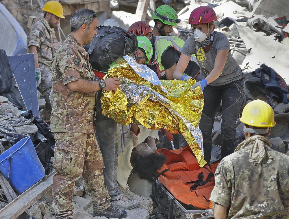 Землетрясение в Италии стало апокалипсисом для старинного города Аматриче