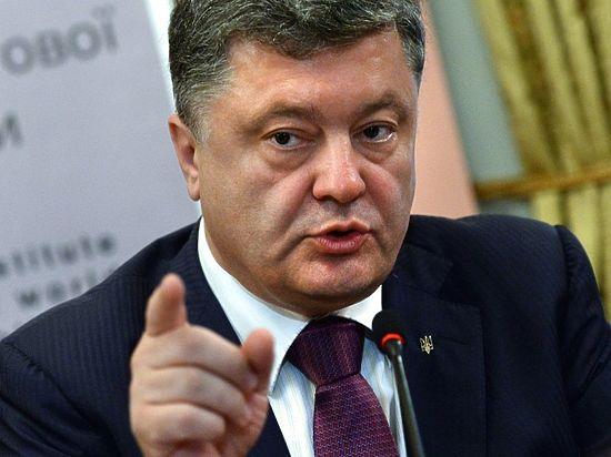 Порошенко: Путин хочет присоединить к России всю Украину