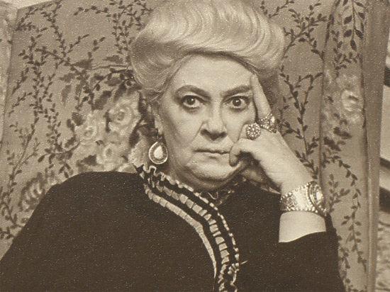 Выставка к120-летию Фаины Раневской откроется вТеатральном музее имени Бахрушина