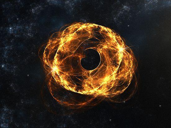Черную дыру удалось создать в лаборатории