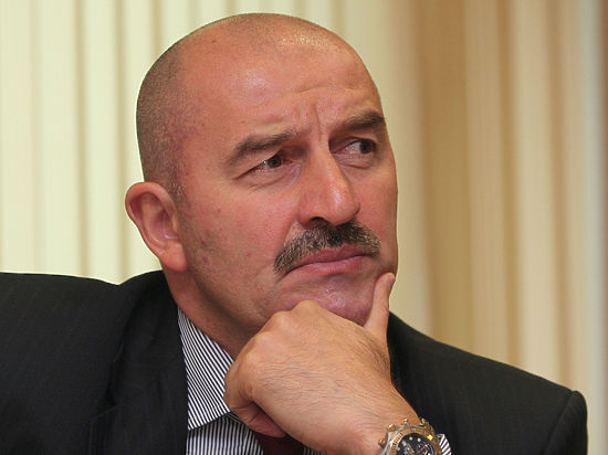 Василий Березуцкий— капитан сборной РФ