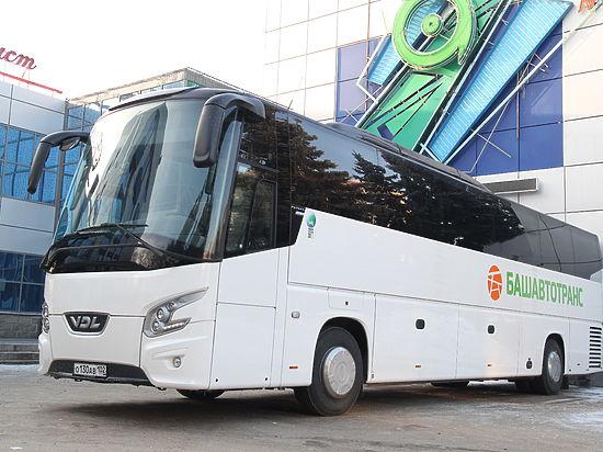 Жителей Екатеринбурга будут перевозить башкирские автобусы