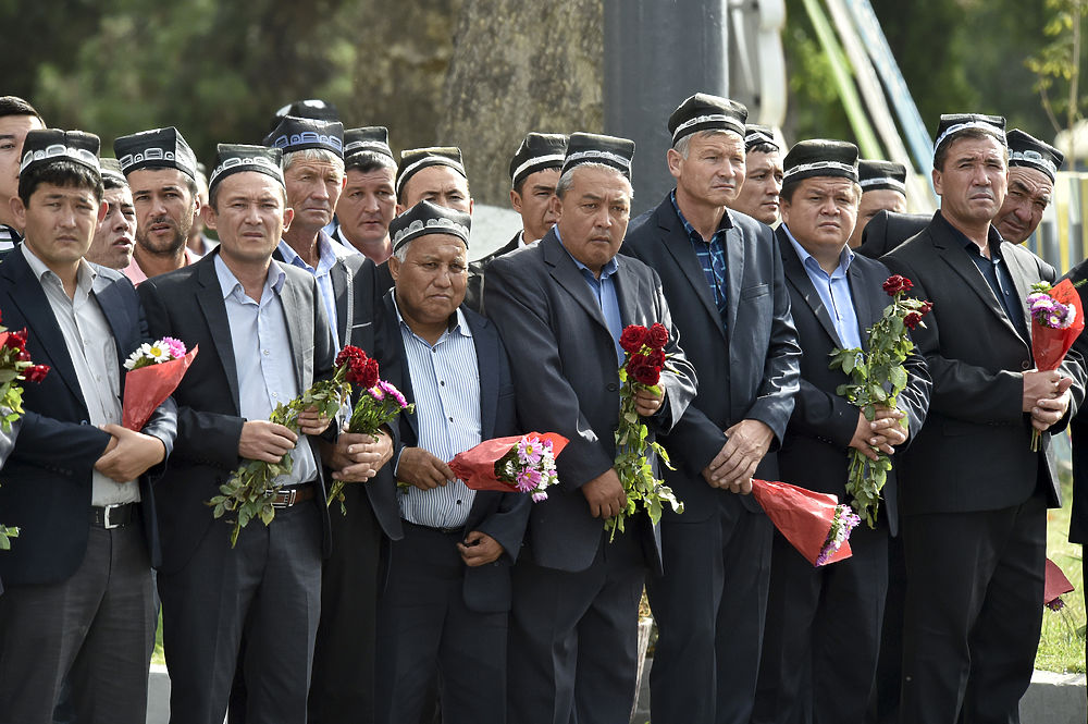 ислам каримов похороны фото