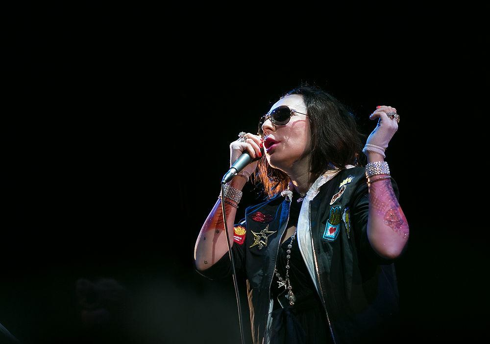 16 сентября в Москве выступила Жанна Агузарова.