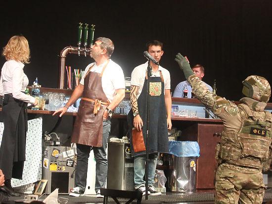 В новом спектакле с Гришковцом играют спецназовцы