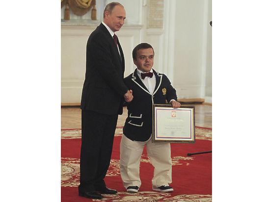 Путин пообещал часто проводить в РФ открытые состязания для паралимпийцев