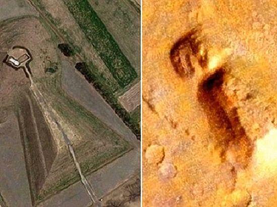 Уфологи нашли на Марсе постройку, подобную японской гробнице