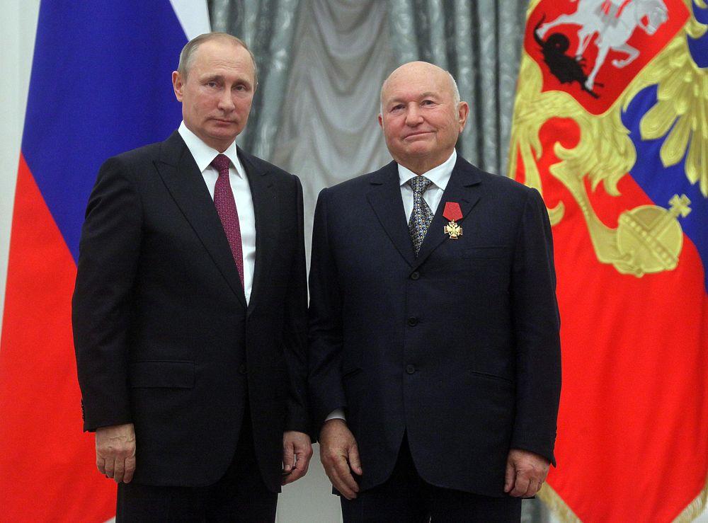 В Екатерининском зале Кремля Владимир Путин вручил награды выдающимся гражданам России.