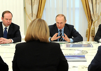 Владимир Путин встретился с главой ЦИК