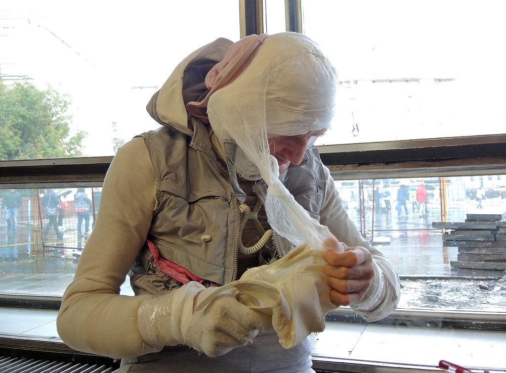 Журналистам «МК» удалось разыскать «человека-мумию»