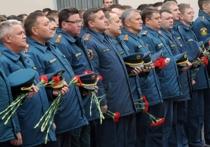 В Москве простились с героями-пожарными, спасшими тысячи жизней