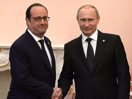 Олланд отказал Путину вобщем мероприятии
