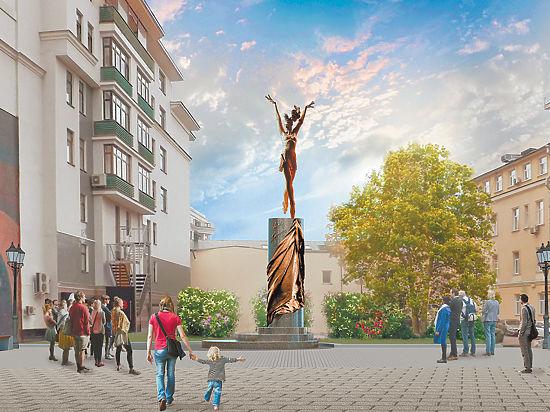 Монумент Майе Плисецкой появится в столице всквере наБольшой Дмитровке