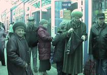 В подмосковном Чехове старикам начали бесплатно раздавать хлеб