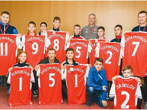 Футбольная школа арсенал лондон