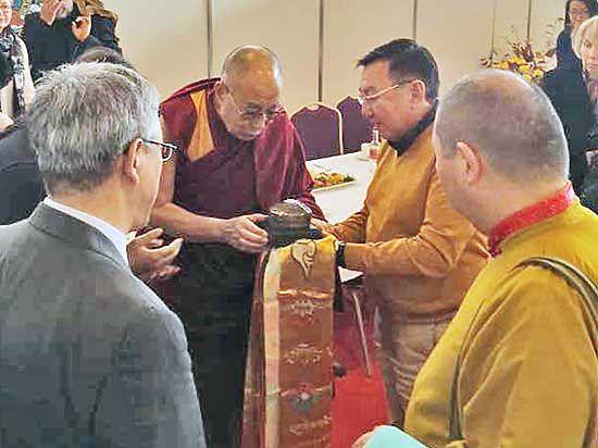 Рижские учения далай-ламы XIV: свидетельство очевидца из Бурятии