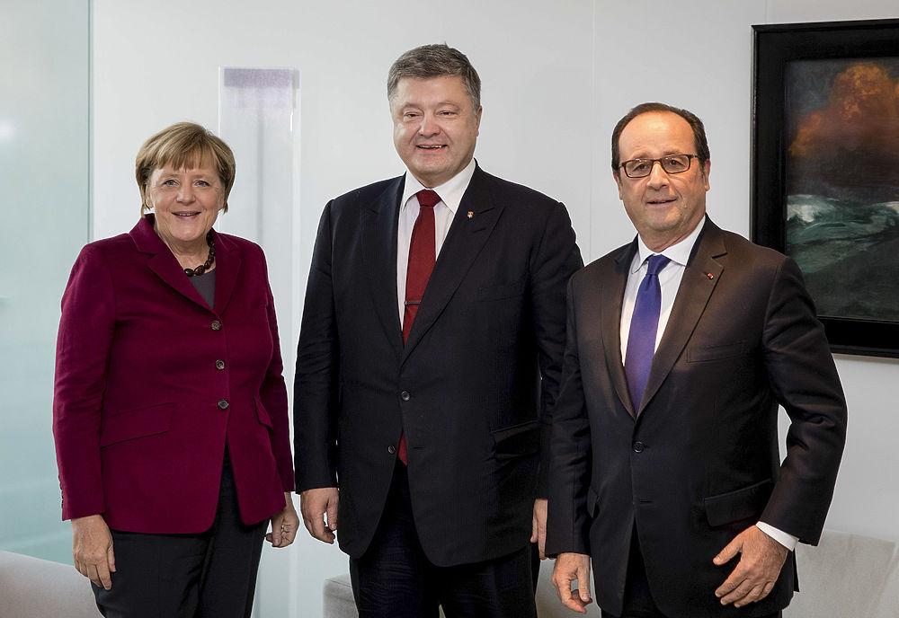 """Итоги """"нормандской четверки"""" в лицах: как выглядели Путин и Порошенко"""