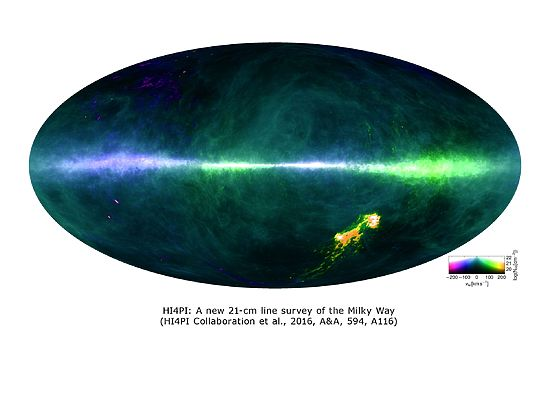 Астрономы представили самую детальную карту Млечного пути