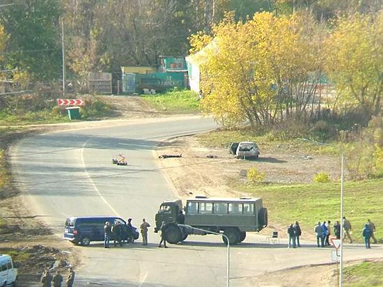 Двое подозреваемых втерроризме уничтожены вНижнем Новгороде