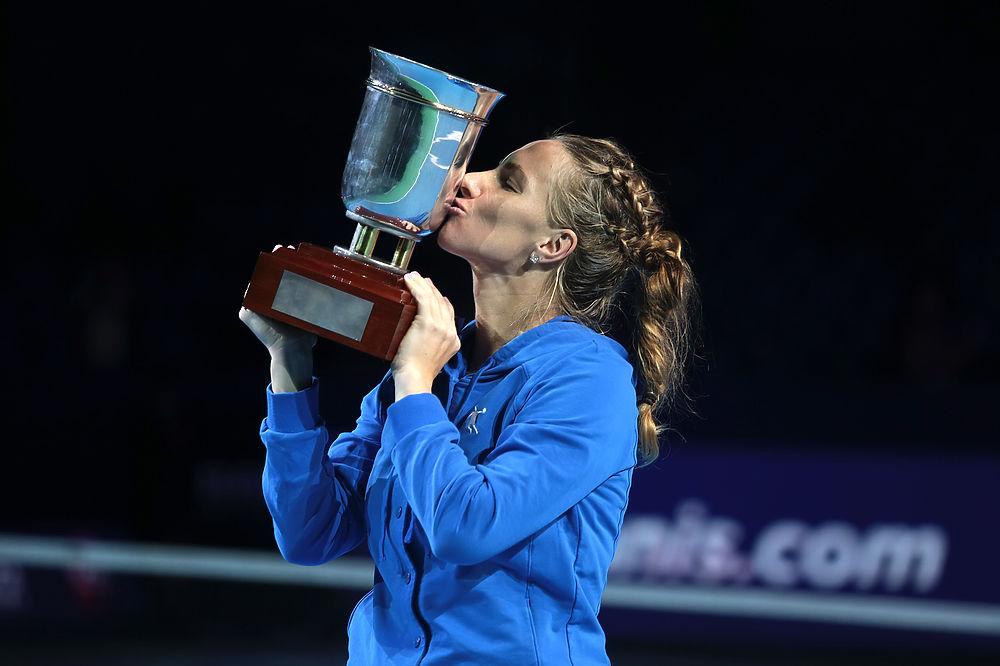 Теннисистка Светлана Кузнецова выиграла Кубок Кремля