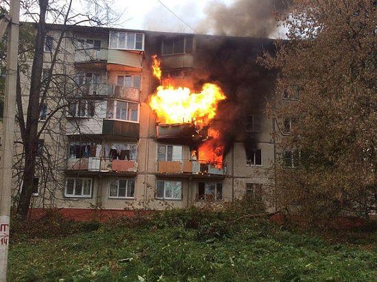 Две женщины погибли впожаре вПодмосковье