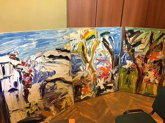 Российский музей непринял в презент картины Васильевой