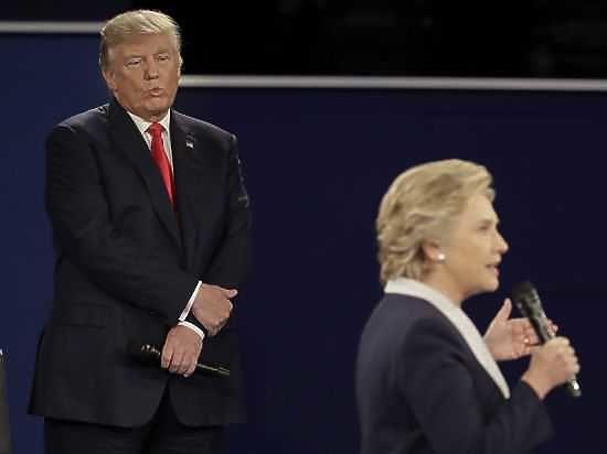 Как противостояние Клинтон и Трампа оценили с точки зрения моды