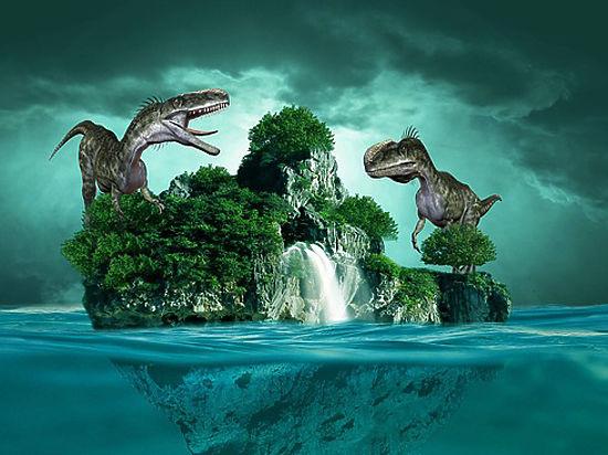 Идентичные наптиц динозавры сбивались встаи