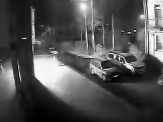 В интернете появилось видео поджога «фабрики троллей» в Петербурге