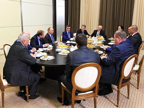 Путин, поговорив о смелости с фермером отказался смотреть страшные фото