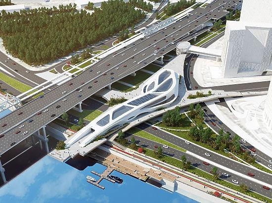 «Москва-Сити», МЦК иПресненскую набережную свяжет мост