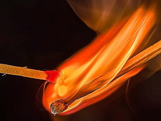 Москвичка загорелась в клубе во время празднования Хеллоуина