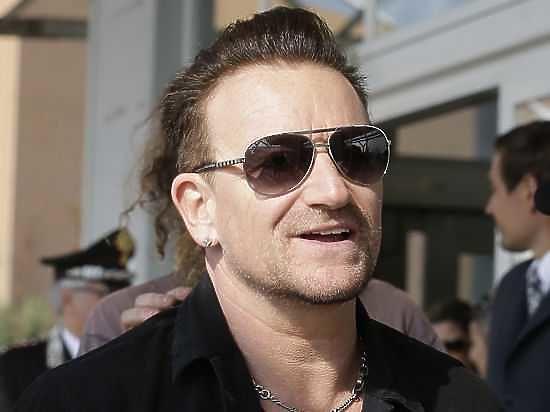 Лидер группы U2 стал первым мужчиной всписке «Женщина года»
