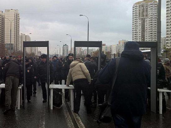 ВЛюблино задержаны несколько националистов