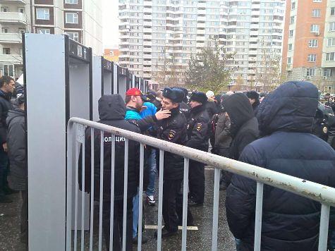 ОМОН задержал семь человек на«Русском марше» в столице России