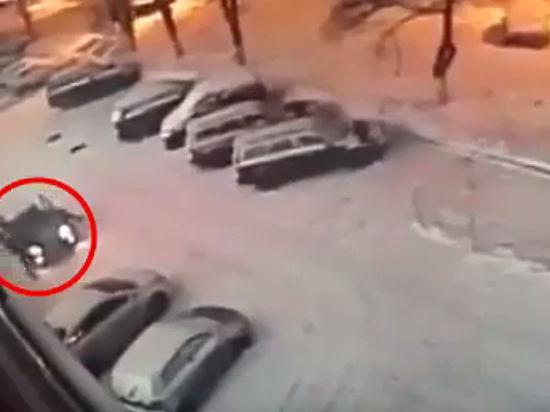 Опубликовано видео убийства чемпиона мира по кикбоксингу в Москве