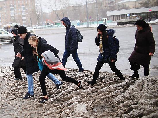Гололед в Москве: какую обувь носить и как ездить