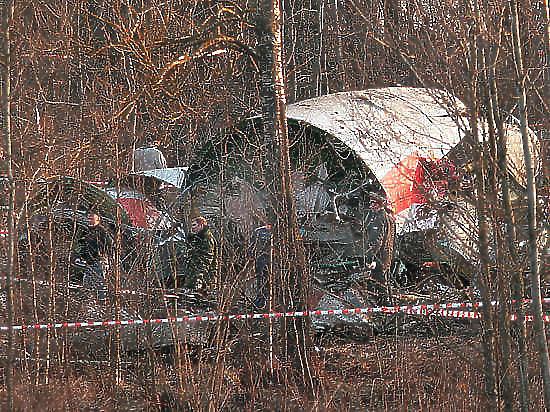 Польские СМИ заявили о тротиле, давно найденном на обломках самолета Качиньского