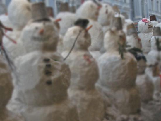 Москвич госпитализирован после драки со снеговиком