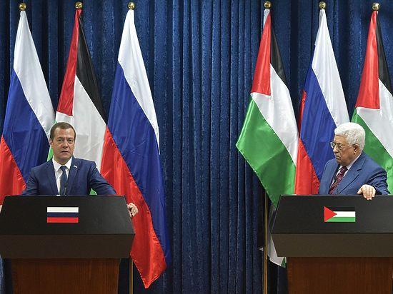 Миссия Медведева в Палестине осложнилась из-за Трампа