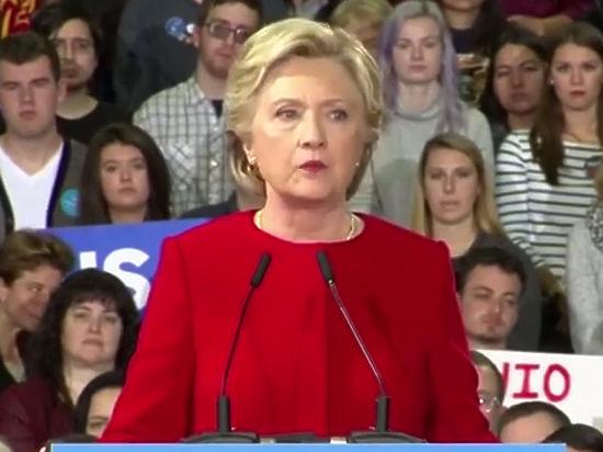 Два миллиона американцев требуют сделать Клинтон президентом США