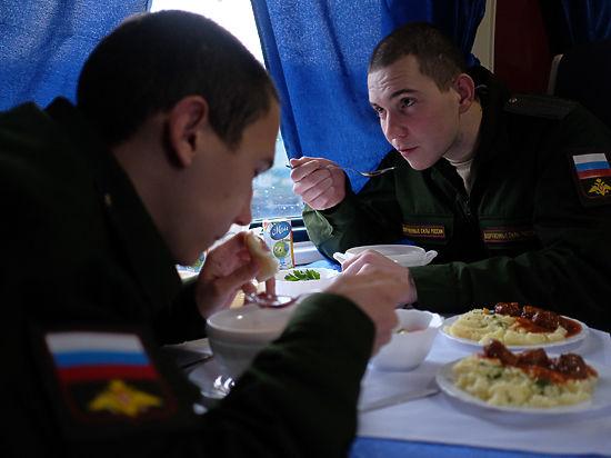 Призывники будут питаться в вагонах-ресторанах